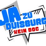 """Logo """"Ja zu Duisburg – kein DOC"""" zum Download"""