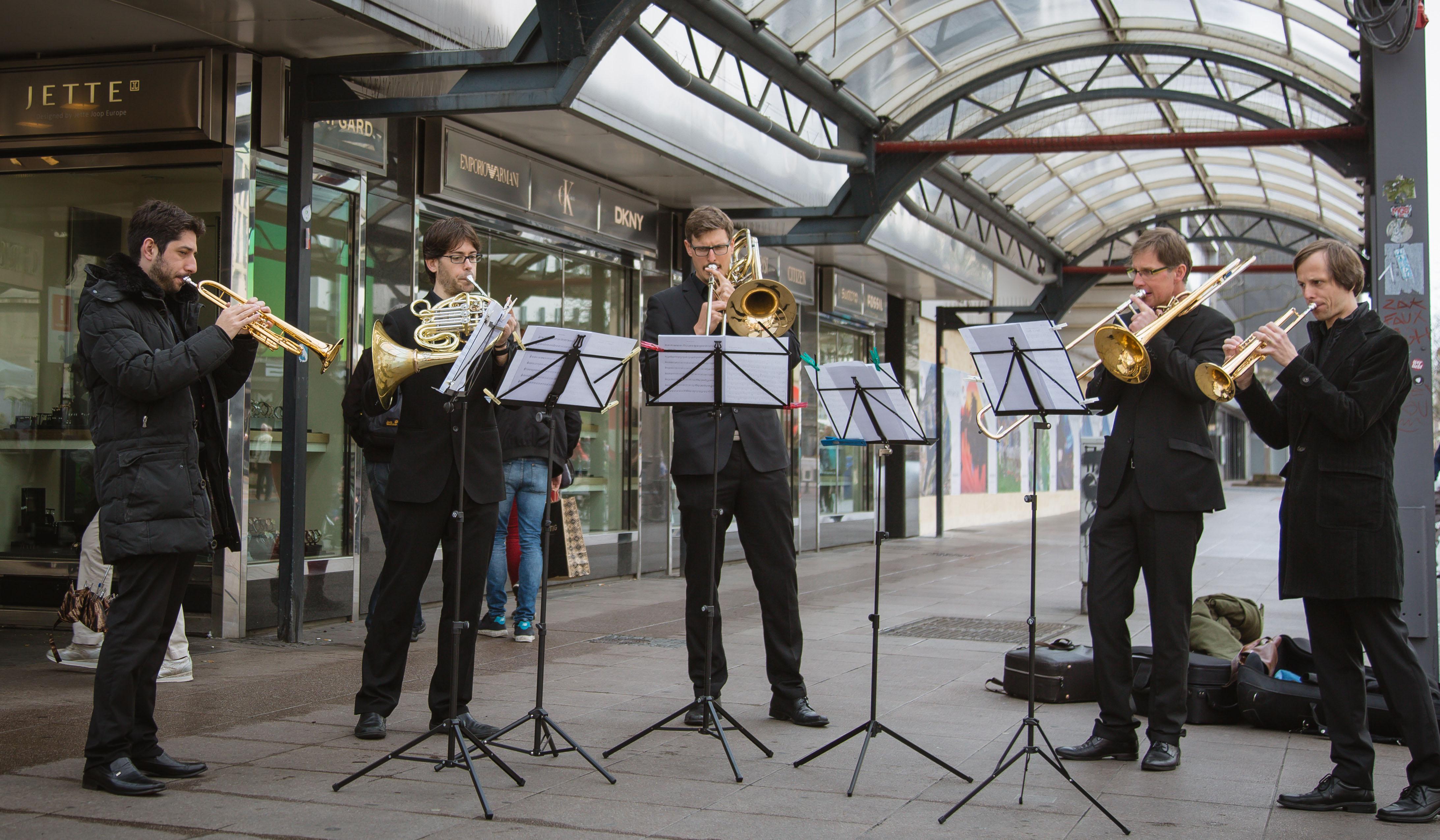 Blechbläser der Philharmoniker Duisburg