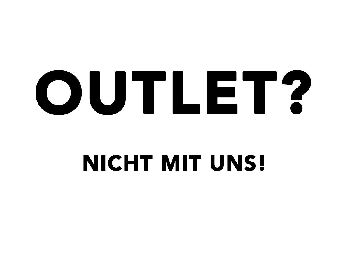 Das Konzept Outlet – Viele machen mit, einer gewinnt