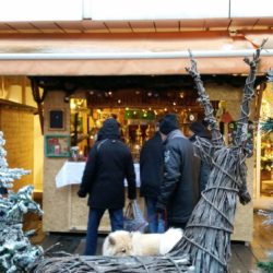 Syrische Woche auf dem Wintermarkt in der Altstadt