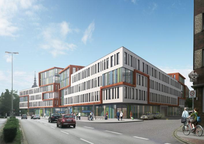 3-Sterne Premium Hotel wird Ankermieter im DUO am Marientor