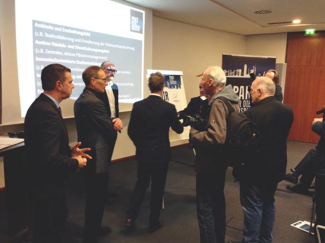 Pakt für die Duisburger Innenstadt geschlossen
