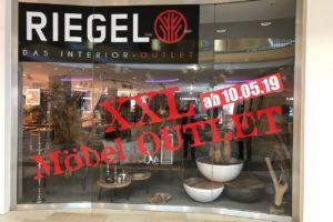 Erste Einblicke in XXL-Möbel-Outlet von Riegel Interior